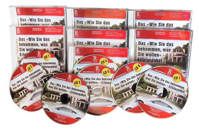 Sieben Audio-CDs mit dem Hörbuch (Spieldauer 532 Min.)
