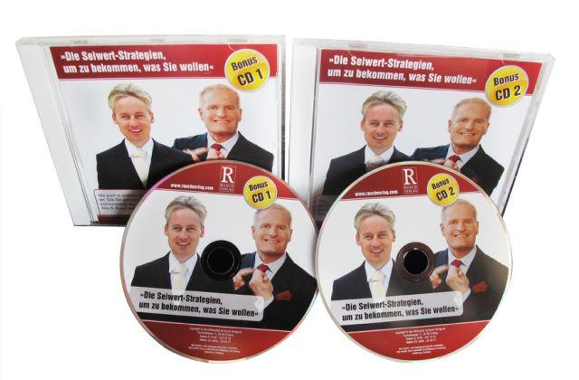 Zwei Audio-CDs »Die Seiwert-Strategien, um zu bekommen, was Sie wollen« (148 Min.)