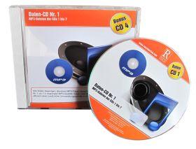 Daten-CD Nr. 1 mit den MP3-Dateien der CDs 1 bis 7