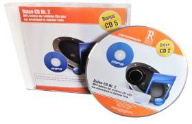 Daten-CD Nr. 2 mit den MP3-Dateien der weiteren CDs plus das Arbeitsbuch in digitaler Form
